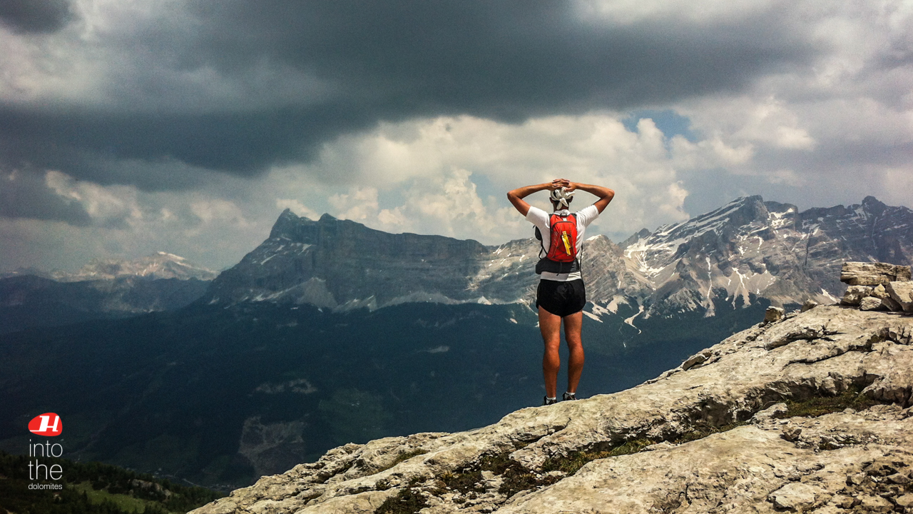 34c17dd8ce4 Trail running and Trekking the Dolomites Alta Via's just started ...